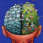 Cerveau droit ou cerveau gauche ?